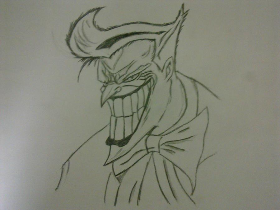 The Joker by Thecrcker