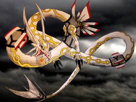 Fake Rayquaza Evolution