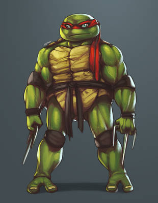 :: Raph finished colours :: by IvyBeth