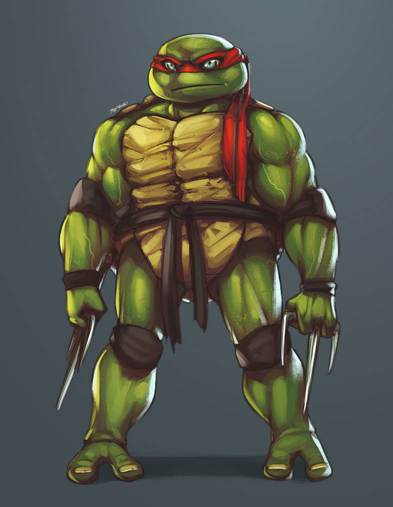 :: Raph finished colours ::