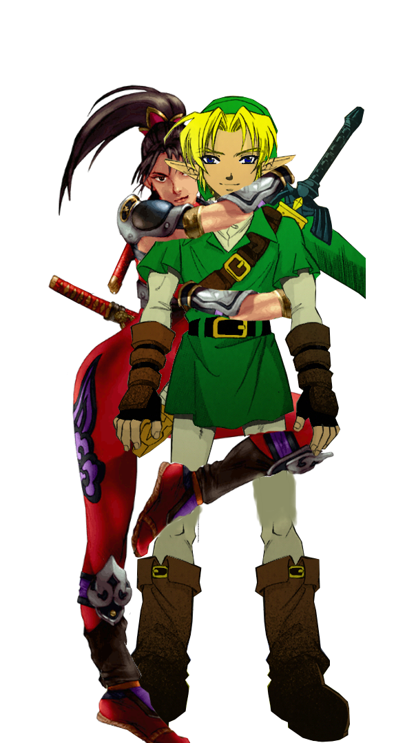 LinkxTaki by The-Dark-Lord-Link