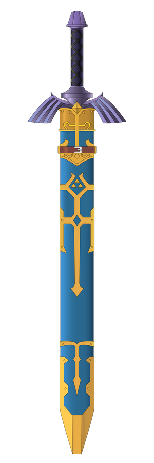 Master Sword in Scabbard