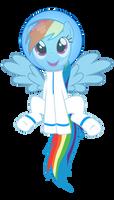 Rainbow Dashtronaut