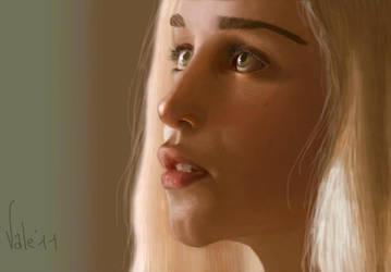 The Khaleesi by Valeharris