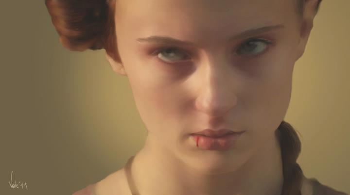 The Rage of Sansa by Valeharris