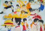 Ace and Luffy - Memories
