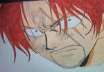 Akagami no Shanks Haki COLOR