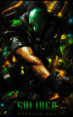 Soldadico Verde // by DeffectGFX