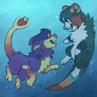 Bubble buddies! by dexikon