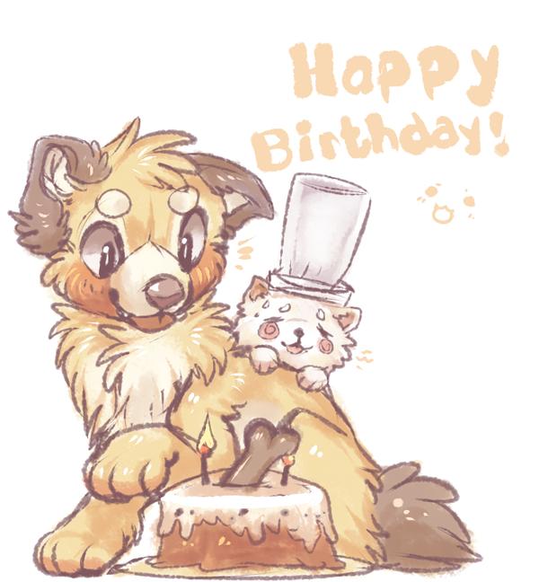 Uno the birthdaycake maker! by dexikon