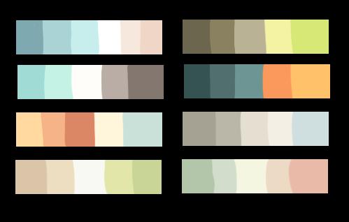 {Free] Palettes! by dexikon