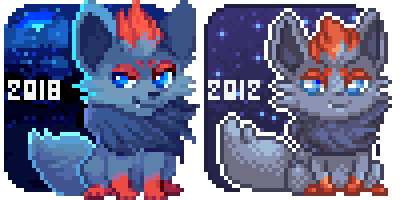 Zorua Icon Redo by dexikon