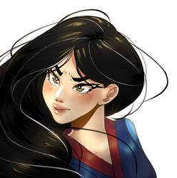 Mulan by callimara