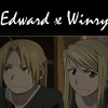 Edward x Winry :: Icon by TheRiverAlchemist