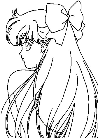 pretty venus coloring page by paramourphoenix - Anime Vampire Girl Coloring Pages