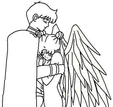 Couple Coloring Page By Anime Pages
