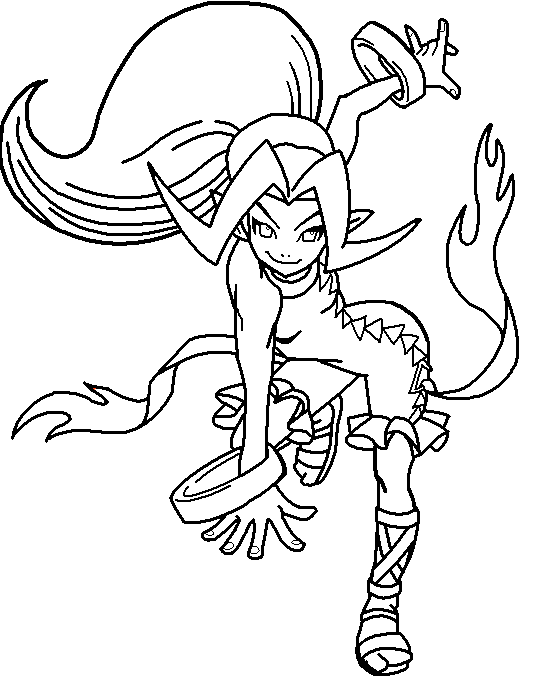 din coloring page by paramourphoenix on deviantart