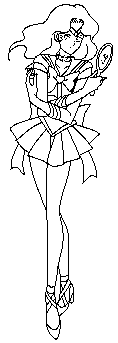 neptune coloring pages - photo#23
