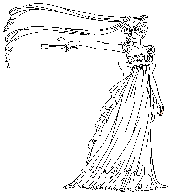 princess flower coloring page by paramourphoenix