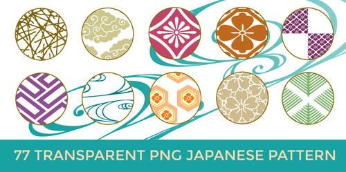 77 Transparent PNG Japanese Pattern