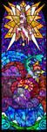 Stained glass - Dawn by gogogoANGEL