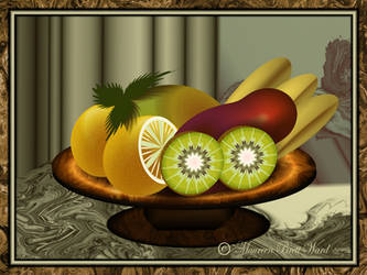 Still Life With Vegetable by GrannyOgg