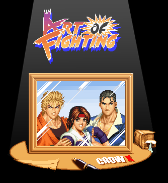Art of Fighting Portrait by crowbrandon