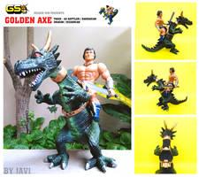 Ax battler and Dragon beast custom
