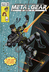METAL GEAR SOLID comic cover