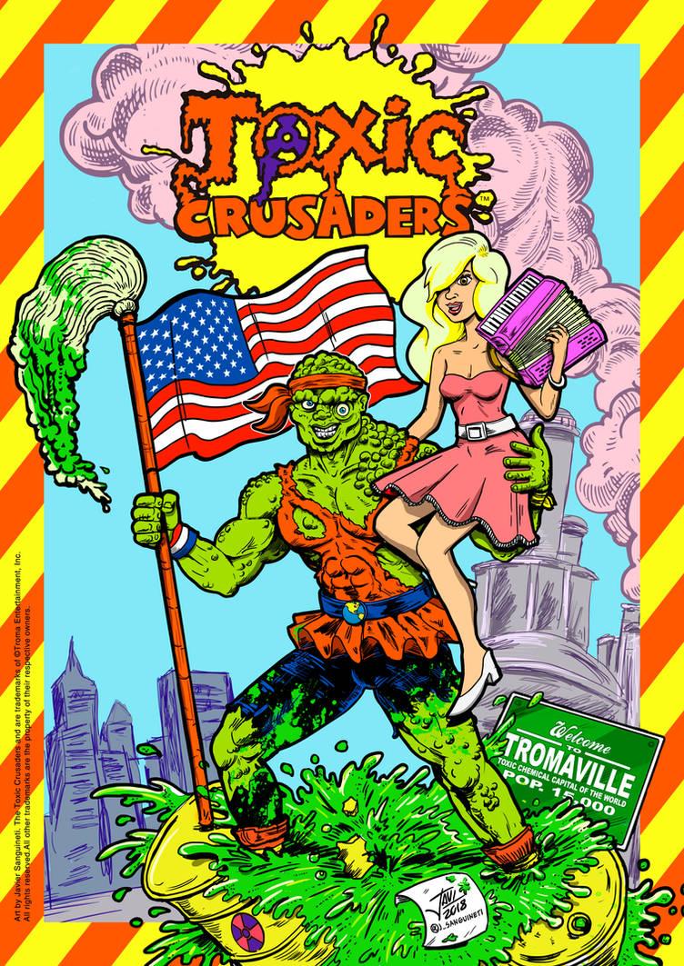 Toxic Crusaders poster art