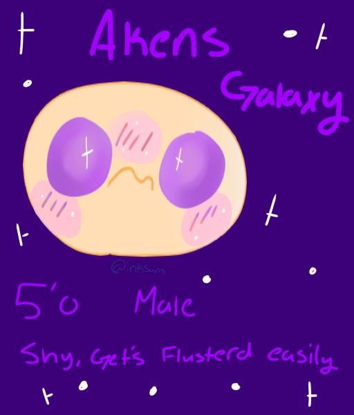 Akens Galaxy by InkSansPaints