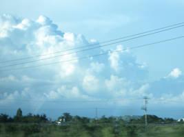 nubes pintadas by Griselibiris