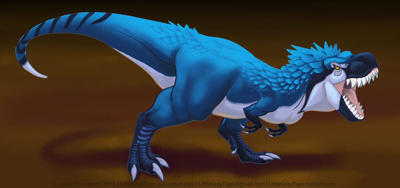 Blue Rex by LittleGrayTiger