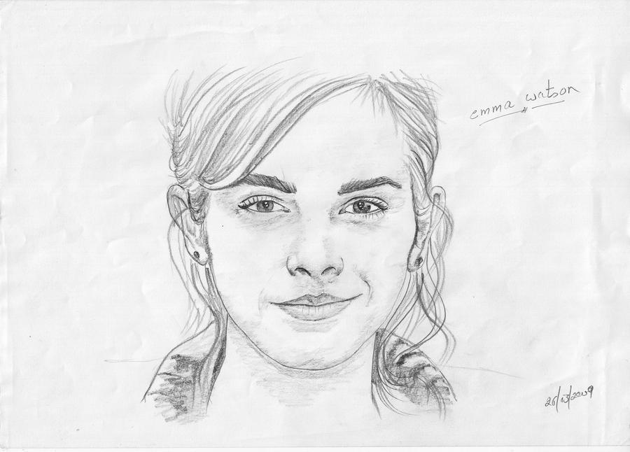 Emma watson by vikidalal