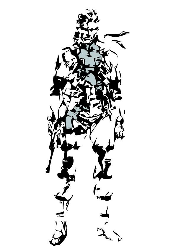 Solid Snake Art By St Solid Snake On Deviantart