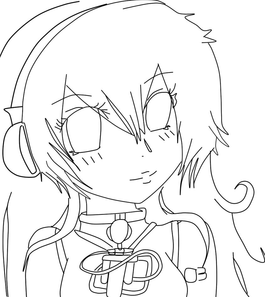 Line Art Emui : Megurine luka line art by emianimeoriginal on deviantart