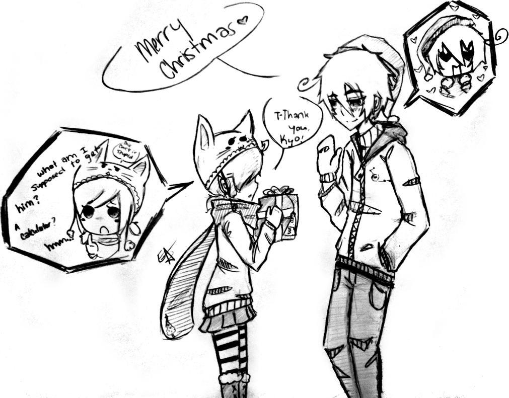 Merry Christmas WIP by EmiAnimeOriginal