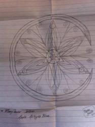 MoonFlower Talisman Tattoo