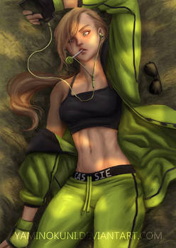 Cassie Cage: After workout