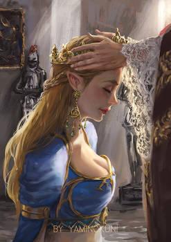 Queen Zelda Coronation