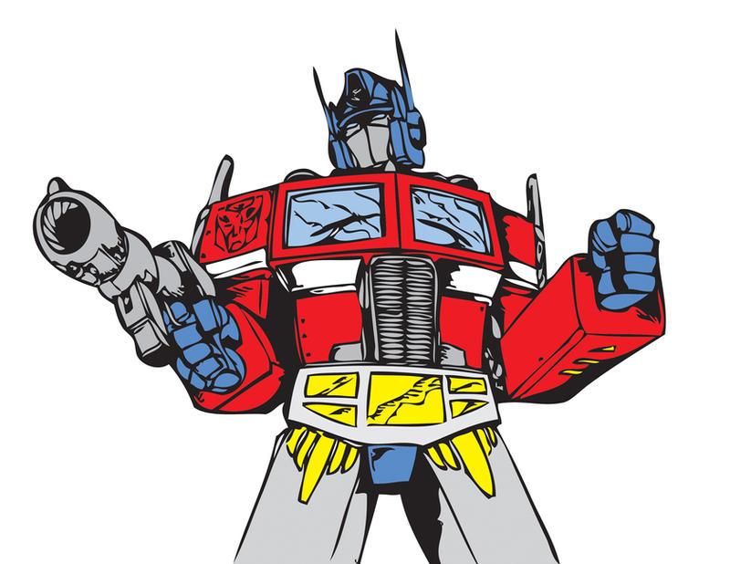 Optimus Prime Cartoon Drawing g1 Optimus Prime Recolor by
