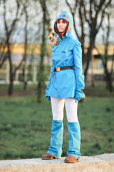 Nausicaa cosplay by SheraRut