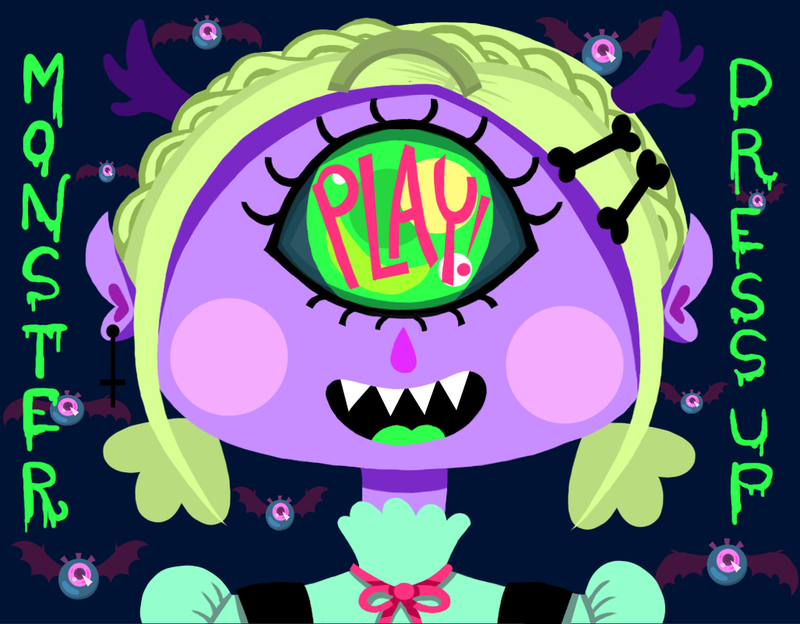 Monster Dress Up Game! Link in the Description!! by LilUFO