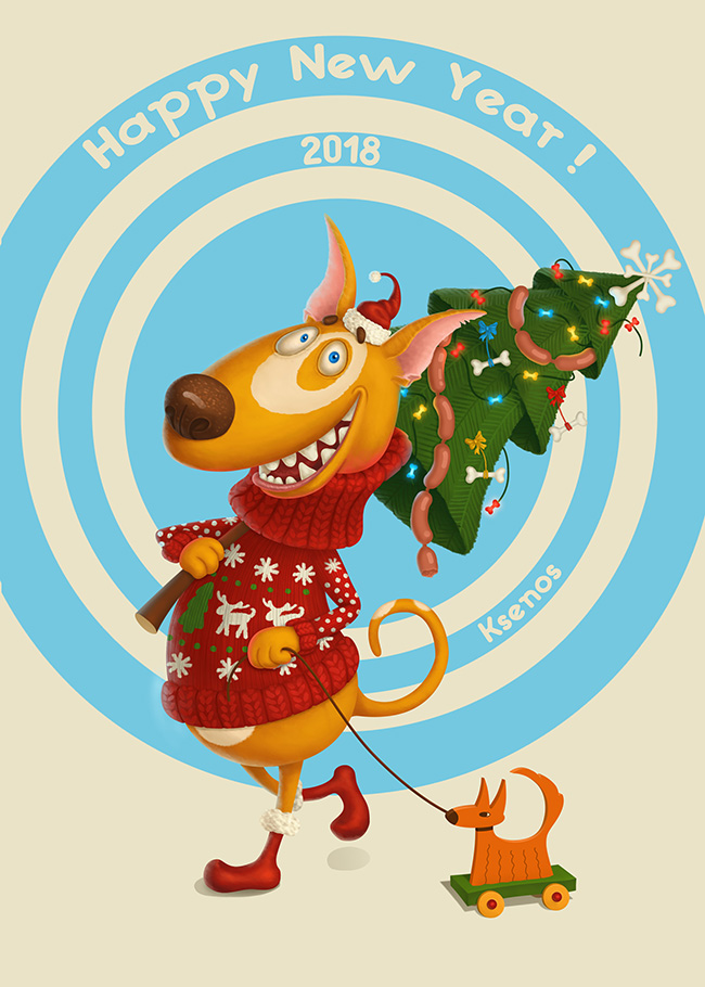 Year of the Yellow Dog by Ksenos-ks