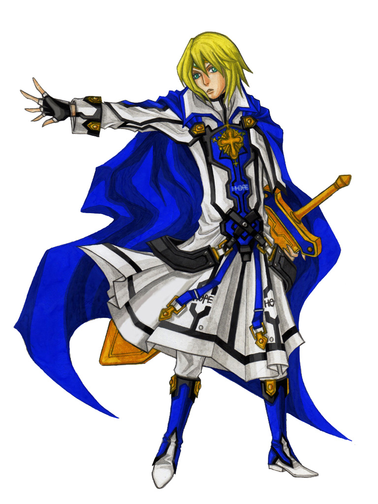 Ky Kiske : Ky is one of the poster boys for the guilty gear series and fulfills the role of a simple, well rounded character.