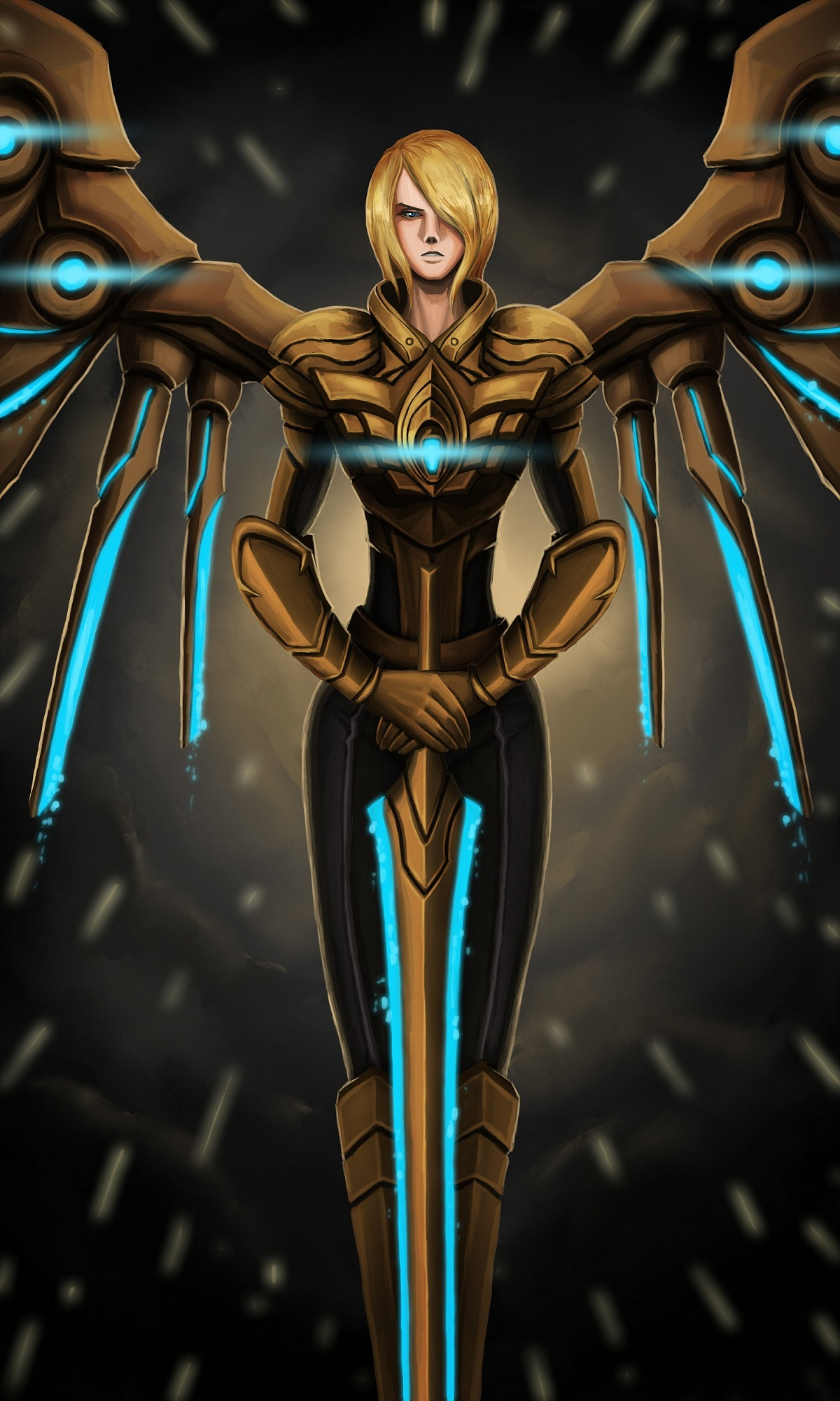Aether Wing Kayle by Naheht on DeviantArt