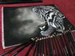 Tiger Roar Drawing...!!!