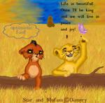 Cub Scar and Mufasa