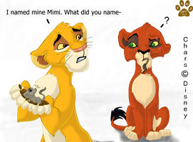 Mufasa and Scar by Missy-MissQ