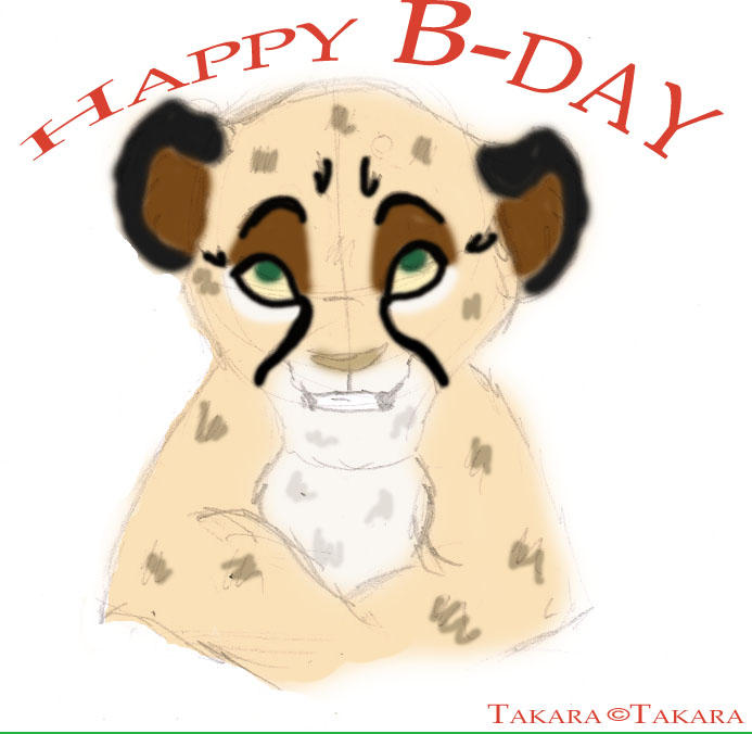 B-day gift for Tak by MissQ
